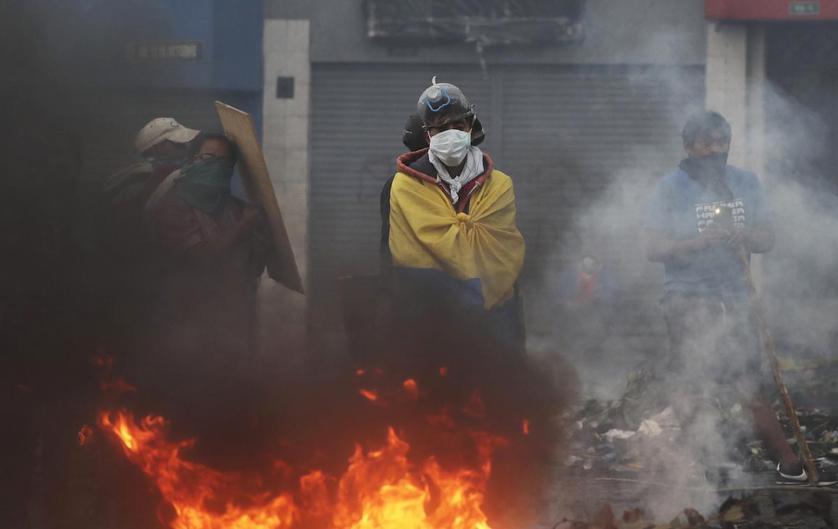 Foto Ecuador Crisis Política 16 Octubre 2019