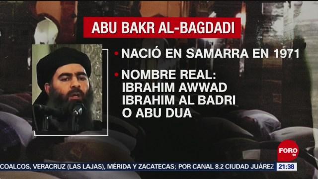 FOTO: ¿Quién era Abu Bakr Al-Bagdadi?, 27 octubre 2019