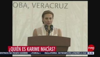 FOTO: Quién Es Karime Macías