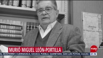 Foto: Quién Fue Miguel León-Portilla 1 Octubre 2019