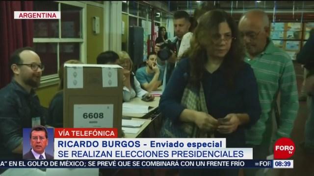 FOTO: Realizan elecciones presidenciales en Argentina, 27 octubre 2019