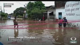 FOTO: Realizan Recuento Daños Oaxaca Que Deja Ciclón Tropical 17-E