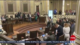 Foto: Rechazan Matrimonio Igualitario Aborto Legal Puebla 9 Octubre 2019