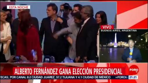 FOTO: Regresa el peronismo a Argentina tras victoria de Alberto Fernández, 27 octubre 2019