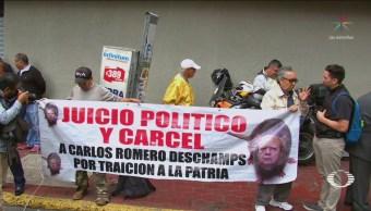 Foto: Renuncia Romero Deschamps 26 Años Sindicato Pemex 16 Octubre 2019