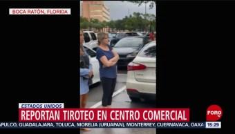 FOTO: Reportan tiroteo en centro comercial de Florida, 13 octubre 2019
