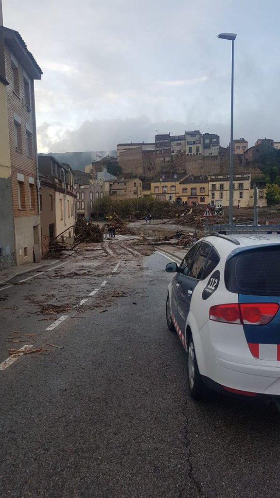 Foto Reportan tres desaparecidos por temporal en Cataluña