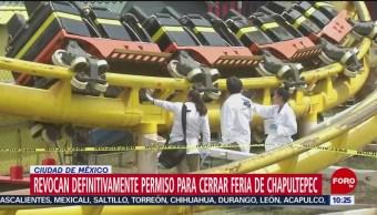 FOTO: Revocan de manera definitiva el permiso para operar La Feria de Chapultepec, 13 octubre 2019