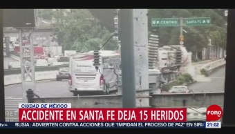 Foto: Revolvedora Cemento Pierde Control Choca Santa Fe 8 Octubre 2019