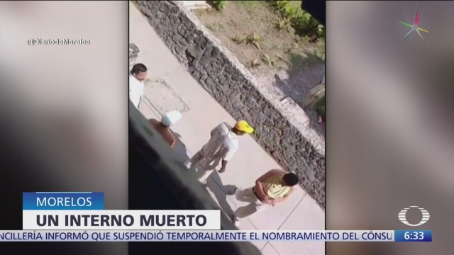 Riña en penal de Morelos deja un interno muerto