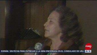 Foto: Rosario Ibarra Recibirá Medalla Belisario Domínguez 8 Octubre 2019