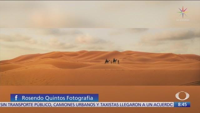 Rosendo Quintos comparte fotografías del desierto del Sahara