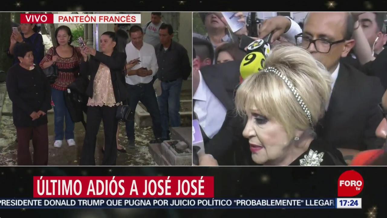 FOTO: Salen familiares José José Panteón Francés