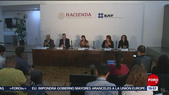 Foto: Sat Entrega Ong Lista Condonaciones Fiscales 2 Octubre 2019