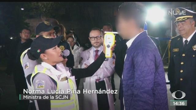 FOTO: SCJN Analiza Operación Alcoholímetro