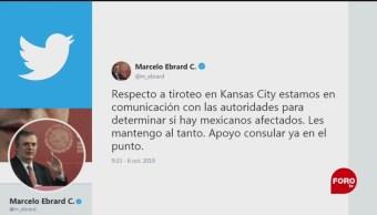 FOTO: Se desconoce si hay mexicanos tras tiroteos en Kansas City, 6 octubre 2019