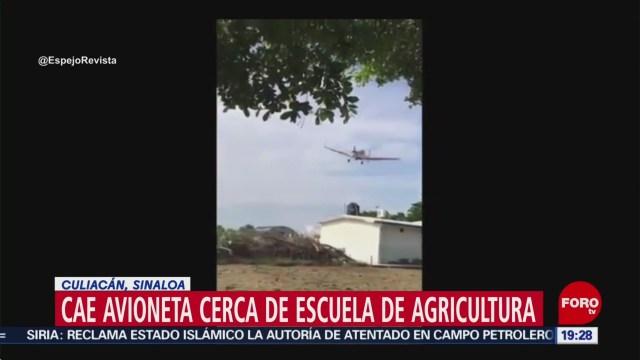 Foto: Desploma Avioneta Culiacán Sinaloa Hoy 2 Octubre 2019