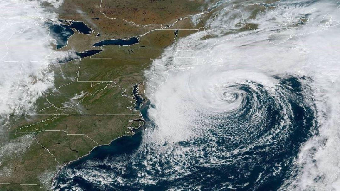 Foto Se forma la tormenta subtropical 'Melissa' en el Atlántico