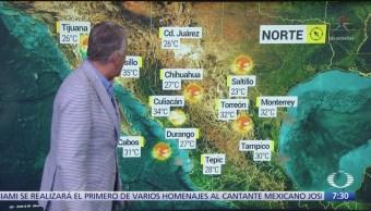 Despierta con Tiempo: Se prevén lluvias en la zona centro y sur de México