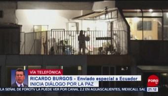 FOTO: Se reanuda toque de queda en Quito, Ecuador, 13 octubre 2019