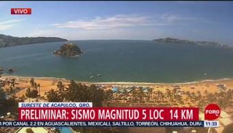 FOTO: Se registra sismo en Guerrero, 5 octubre 2019