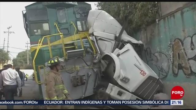 Foto: Accidentes Tren Primeros Seis Meses 2019 6 Octubre 2019