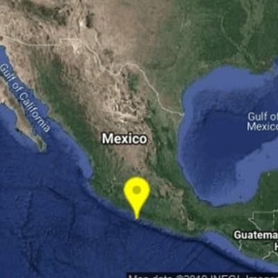 Se registran tres sismos con epicentro en Petatlán, Guerrero