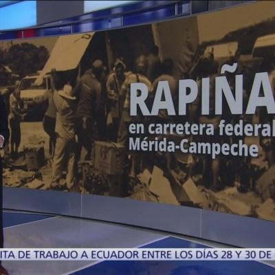 Se registran siete casos de rapiña en carretera Mérida-Campeche