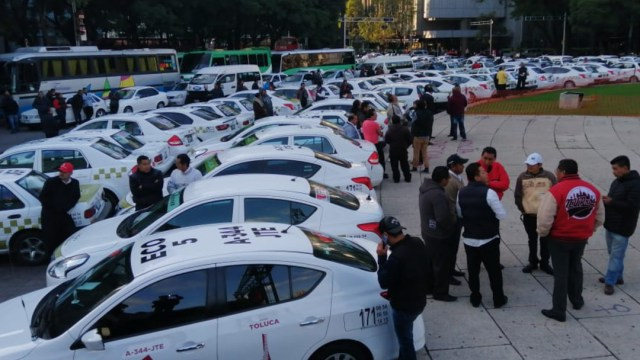 Foto: Ignacio Rodríguez, vocero nacional del MNT comentó que las plataformas atentan contra la economía mexicana. 7 de octubre de 2019 (Armando Monroy /Cuartoscuro.com)