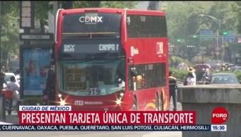 FOTO: Sheinbaum Presenta Tarjeta Única Para Transporte Público