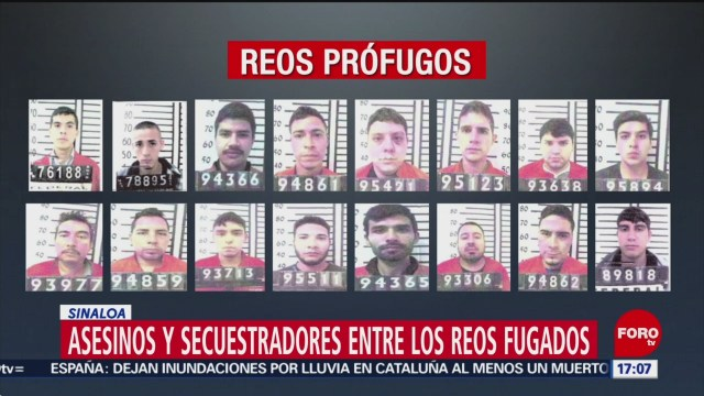FOTO: Siguen prófugos 47 reos penal Aguaruto Sinaloa