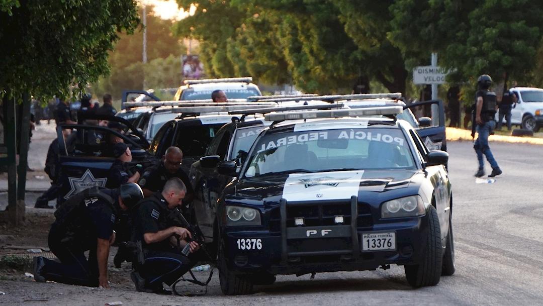 Foto: Fuertes enfrentamientos entre grupos armados con las fuerzas federales en Culiacán, 18 octubre 2019