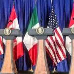 Firma del Tratado entre México, Estados Unidos y Canadá