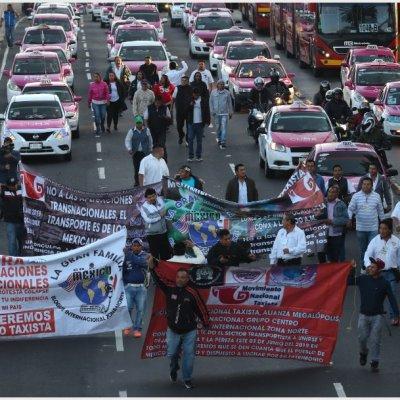 Estos son los acuerdos a los que llegaron los taxistas con las autoridades tras bloqueos