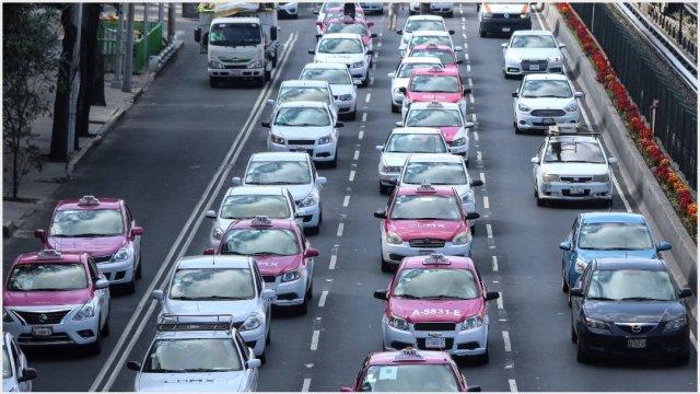 Foto: Taxistas comienzan a liberar vialidades en la CDMX, 7 de octubre de 2019 (ROGELIO MORALES /CUARTOSCURO.COM)
