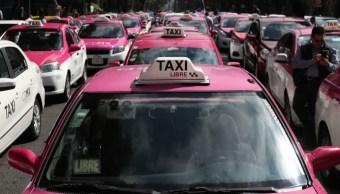 FOTO Taxistas no consiguieron lo que buscaban, dice Andrés Lajous (Cuartoscuro/Galo Cañas)