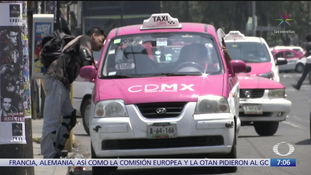 Taxistas secuestradores operan afuera de restaurantes y antros de CDMX