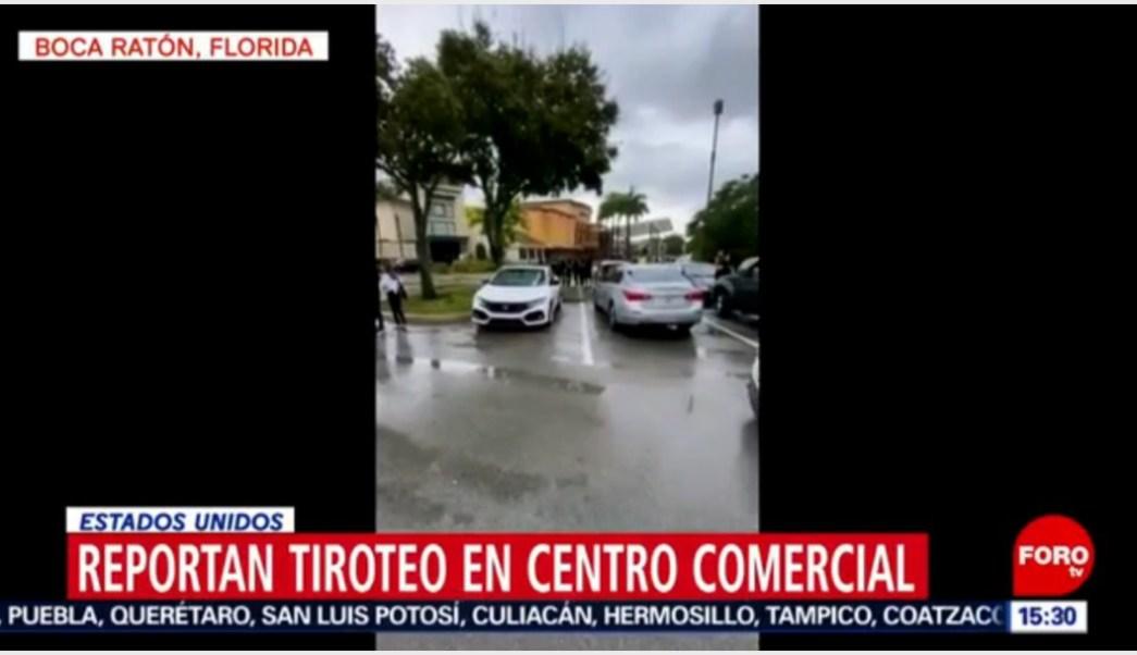Foto: Reportan tiroteo en centro comercial de Florida, 13 de octubre de 2019 (Foro TV)