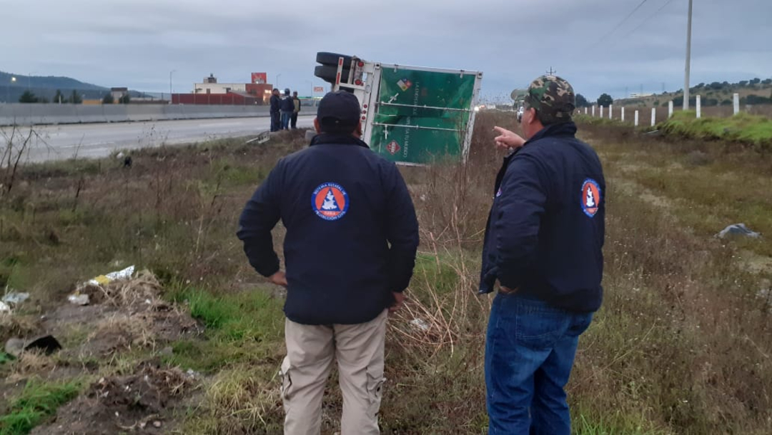 Fotos: Pese al accidente no se reportó fuga de gas, 26 de octubre de 2019 (Noticieros Televisa)