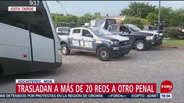 FOTO: Trasladan reos penal Atlacholoaya Morelos