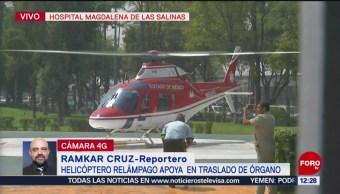 Trasladan hígado de Zacatecas al hospital Magdalena de las Salinas, CDMX