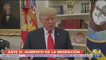 Trump sugirió disparar a migrantes, según NYT