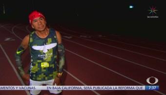 Ultramaratonista oaxaqueño enfrentará dura prueba de resistencia