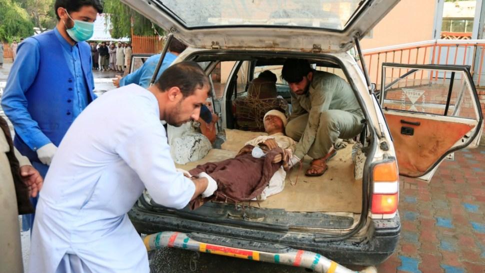 Foto: Un atentado en una mezquita en Afganistán deja 63 muertos, 18 de octubre de 2019, Afganistán
