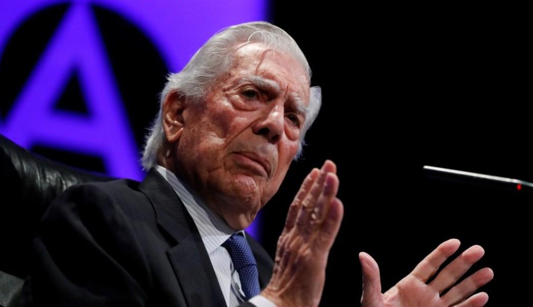 Foto: Mario Vargas Llosa, 8 de octubre de 2019, España