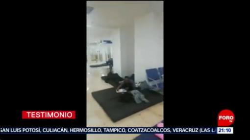 FOTO: Venezolanos denuncian malos tratos de autoridades migratorias, 6 octubre 2019