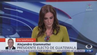 Video: Entrevista completa con Alejandro Giammattei, presidente electo de Guatemala, en 'Despierta'