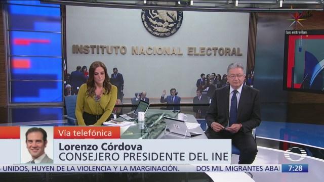 Video: Entrevista completa con Lorenzo Córdova, presidente del INE, en 'Despierta'