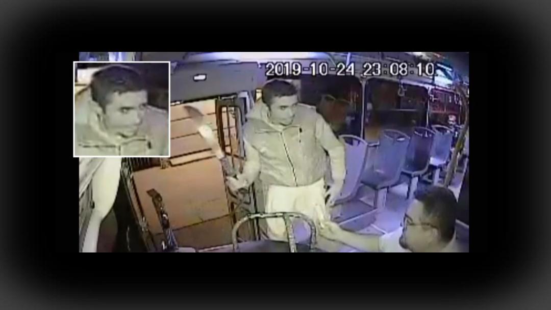 FOTO Video: Ladrón amenaza a conductor camión con machete (FOROtv)