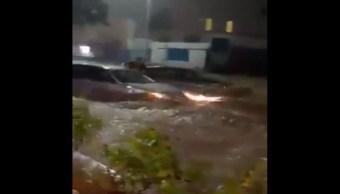Foto Video Tromba en Los Cabos, BCS, provoca severos daños